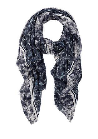 Schal mit Musterprint