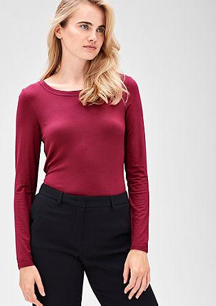 Schlichtes Jersey-Shirt