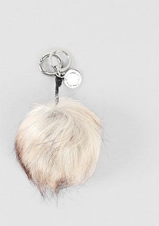 Schlüsselanhänger aus Fake-Fur