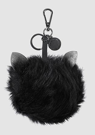 Schlüsselanhänger aus Fake Fur