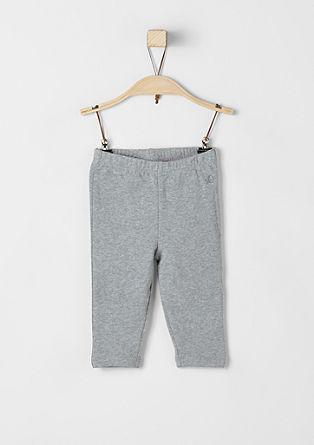 Schmale Sweat-Leggings