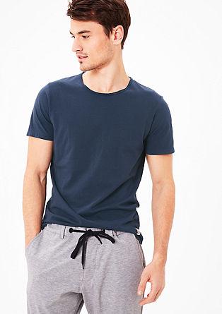 Schmales T-Shirt aus Jersey