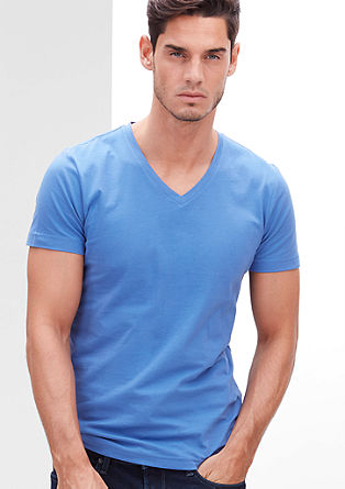 Schmales V-Neck-Shirt