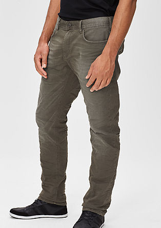 Scube Relaxed: coloured stretch jeans from s.Oliver