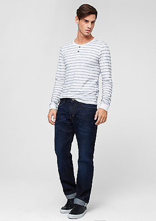 Scube Relaxed: Dunkelblaue Jeans