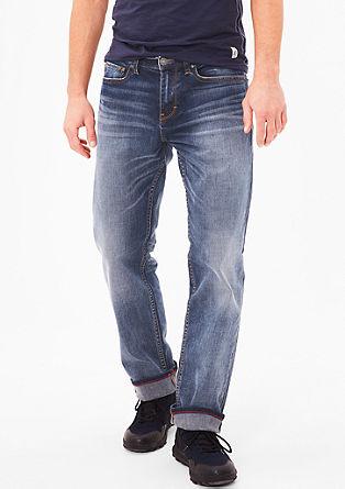 Scube Relaxed: jeans hlače obrabljenega videza