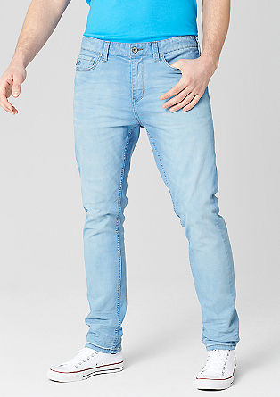 Scube Relaxed: Jeans mit heller Waschung