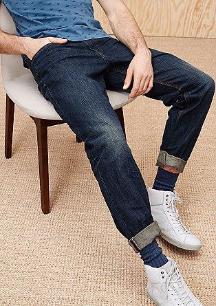 Scube Relaxed: modre jeans hlače