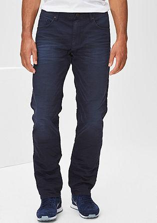 Scube Relaxed: obarvane raztegljive jeans hlače