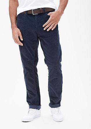 Scube Relaxed: raztegljive žametne hlače