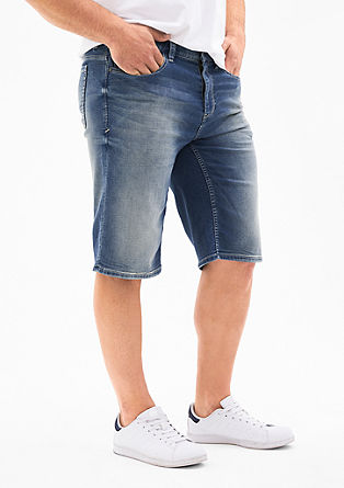 Scube Relaxed: Soft denim Bermudas from s.Oliver
