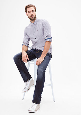 Scube Relaxed: Temne jeans hlače