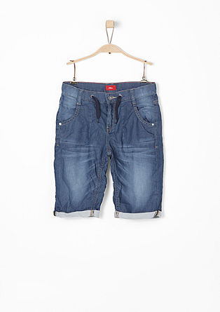 Seattle: Casual denim Bermudas from s.Oliver