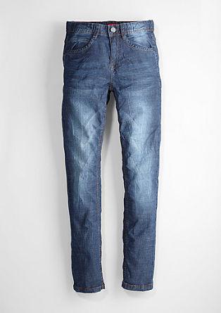 Seattle: Jeans hlače z zmečkanimi gubami
