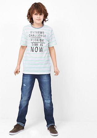 Seattle: Jeans mit Crinkle-Effekt