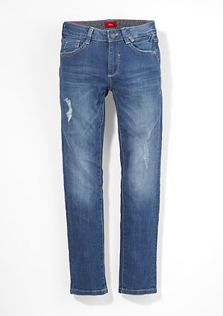 Seattle: Stretchige Used-Jeans