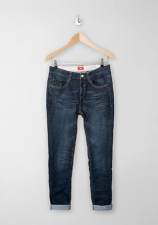 Seattle: ultra-soft dark denim jeans from s.Oliver