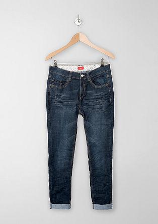 Seattle: ultra-soft dark denim jeans from s.Oliver