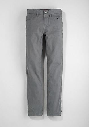 Seattle Slim: hlače s teksturo rebrastega žameta