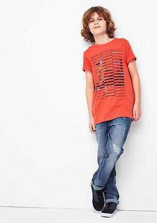 Seattle Slim: Jeans hlače obrabljenega videza