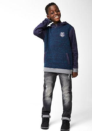Seattle Slim: jeans hlače raztrganega videza