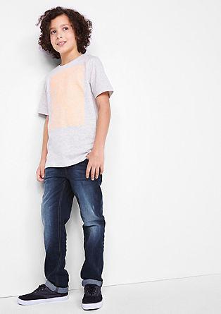 Seattle Slim: jeans hlače z gubami od sedenja