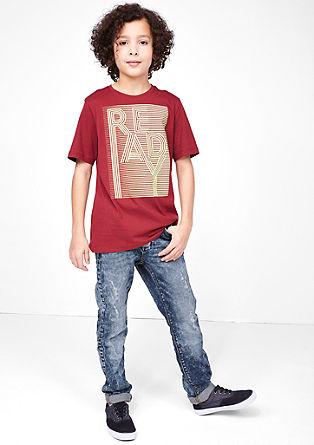 Seattle Slim: jeans hlače z raztrganinami