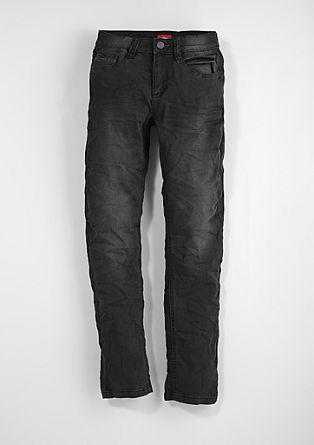 Seattle Slim: obarvane raztegljive jeans hlače