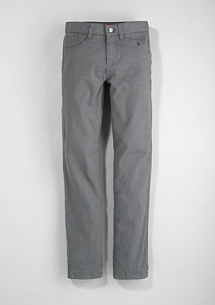 Seattle Slim: Trousers with a cord texture from s.Oliver