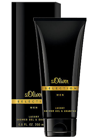 SELECTION MEN Luxury Shower Gel & Shampoo 200 ml