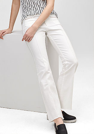 Selina: stretch flared jeans from s.Oliver