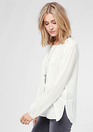 Semi-sheer lace tunic from s.Oliver