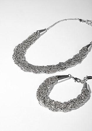 Set aus Halskette und Armband