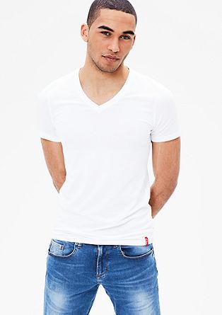 Set van 2 shirts met V-hals