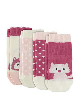 Set van 4 paar schattige sokken