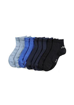 Set van 9 paar korte sokken