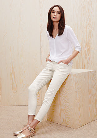 Shape ankle: 7/8-stretchjeans