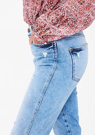 Shape Ankle: Denim hlače High Rise