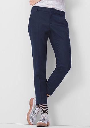 Shape Ankle: hlače volnenega videza