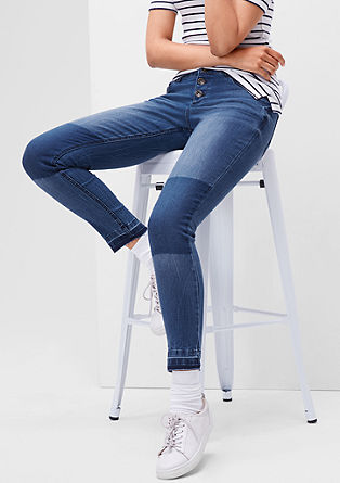 Shape Ankle: Stretch-Jeans