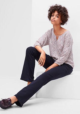 Shape Bootcut: Barvane jeans hlače