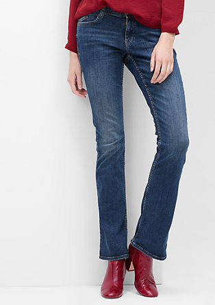 Shape Bootcut: Stretch-Jeans