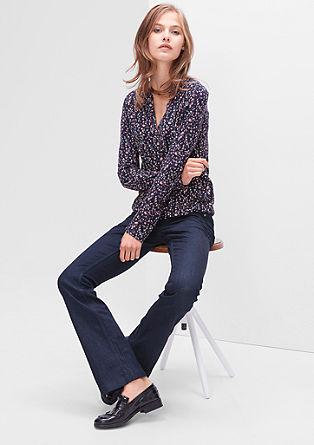 Shape Bootcut: temne jeans hlače