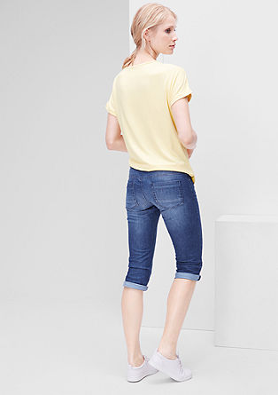 Shape Capri: Ozke jeans hlače