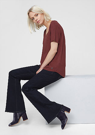 Shape Flare: Raw stretch denim from s.Oliver