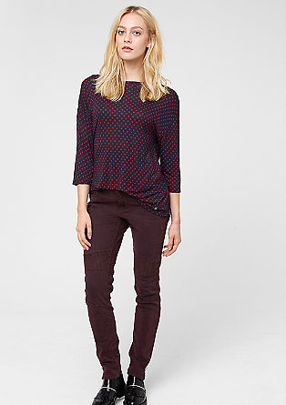 Shape Skinny: Biker-look jeans from s.Oliver