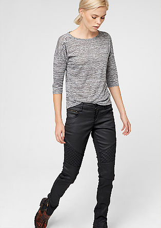 Shape Skinny: biker-style jeans from s.Oliver