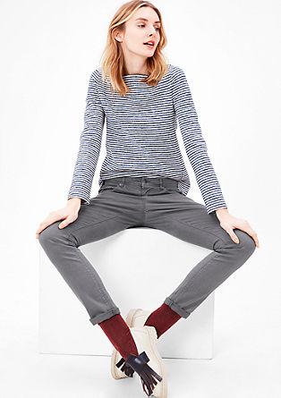 Shape skinny: coloured jeans