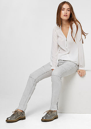 Shape Skinny: Rockige Stretch-Jeans