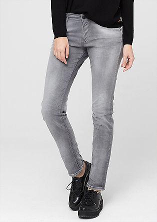 Shape Skinny: sive raztegljive kavbojke